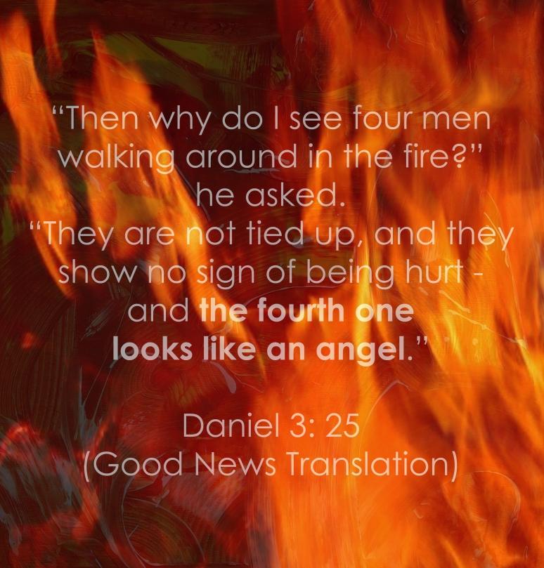 Daniel 3 - 25 - Text